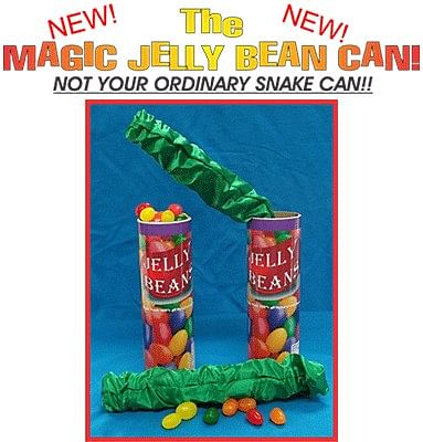 Jelly Bean Snake Can - magic