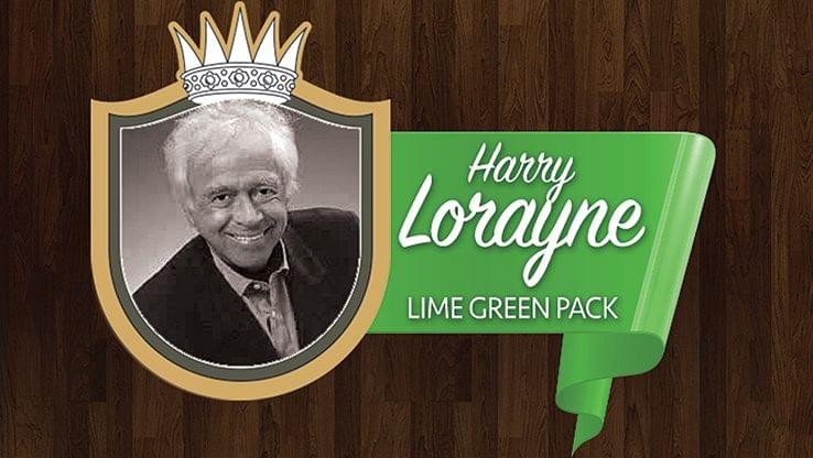 Joe Rindfleisch's Legend Bands: Harry Lorayne Lime Green Pack