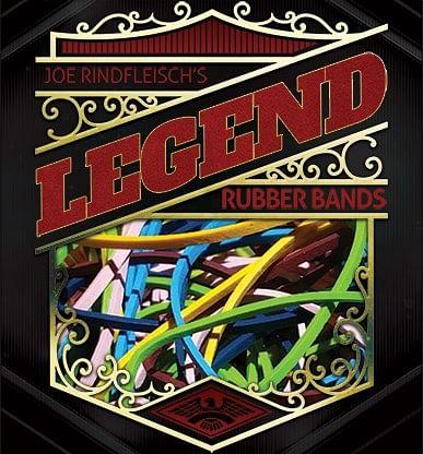 Joe Rindfleisch's Legend Bands: Harry Lorayne Lime Green Pack - magic