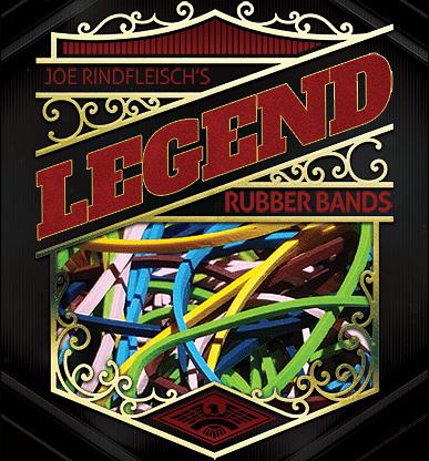 Joe Rindfleisch's Legend Rubber Bands - magic