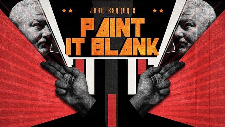 John Bannon's PAINT IT BLANK - magic