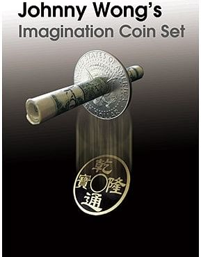 Johnny Wong's Imagination Coin Set - magic