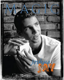 Joshua Jay One Man Issue of MAGIC Magazine - magic