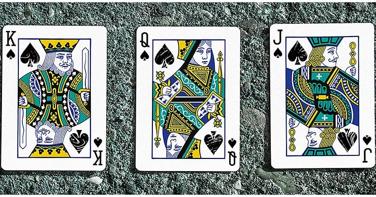 Juggler Marble Edition Playing Cards