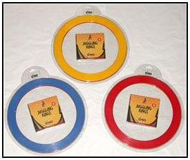 Juggling Rings Set  - Assorted Colors - magic