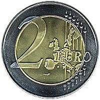 Jumbo 2 Euro Coin - magic