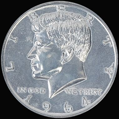 JUMBO 3 inch Half Dollar - magic