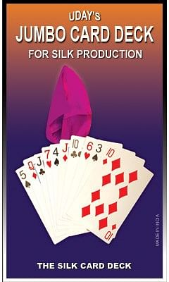 Jumbo Card Deck for Silk Production - magic