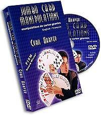 Jumbo Card Manipulation - magic