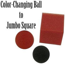 Jumbo Color Changing Ball to Square - magic