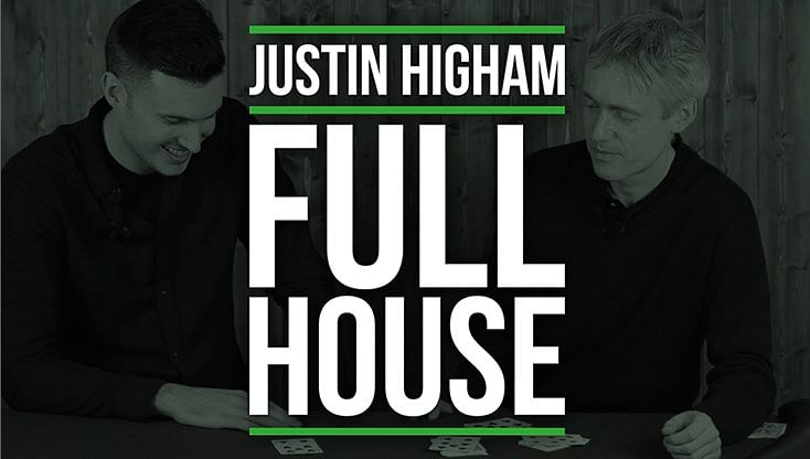Justin Higham Full House - magic