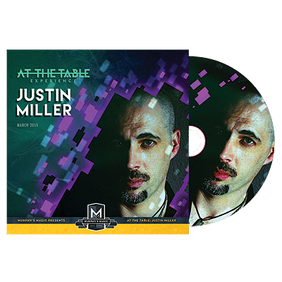 Justin Miller Live Lecture DVD - magic