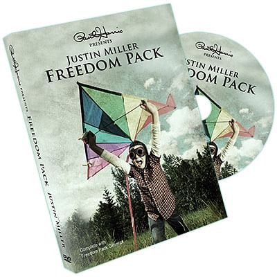 Justin Miller's Freedom Pack - magic