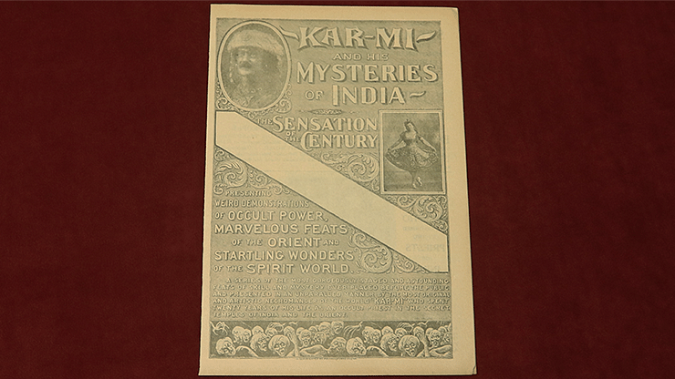 Kar Mi and His Mysteries of India  - magic