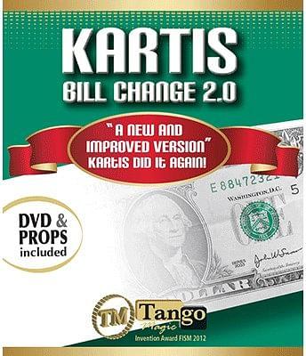 Kartis Bill Change 2.0 - magic