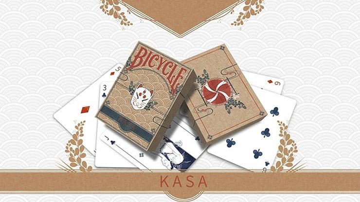 Kasa Wood Edition Playing Cards - magic