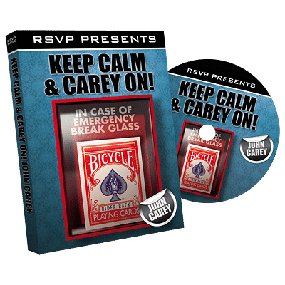 Keep Calm and Carey On - magic