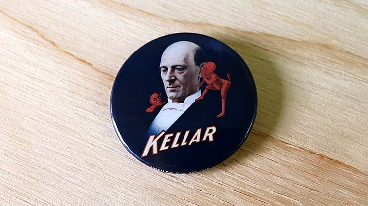 Keller Pin-Back Button - magic