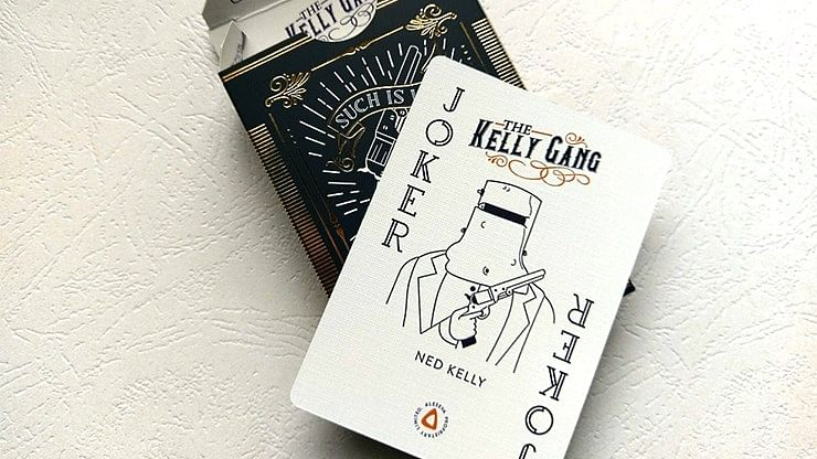 Kelly Gang Playing Cards