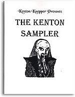 Kenton Sampler book Kenton Knepper - magic