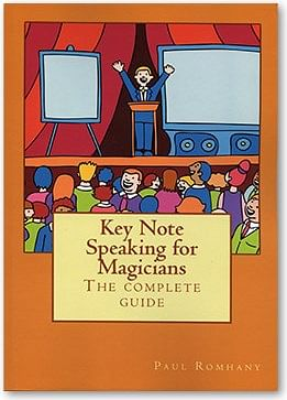 Keynote Speaking for Magicians - magic