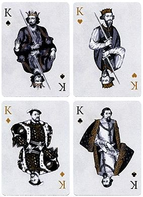 King Henry VII  British Monarchy Playing Cards