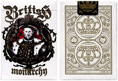 King Henry VII  British Monarchy Playing Cards - magic