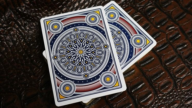 Kings Wild Americana Gilded Playing Cards
