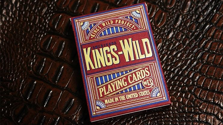 Kings Wild Americana Gilded Playing Cards - magic