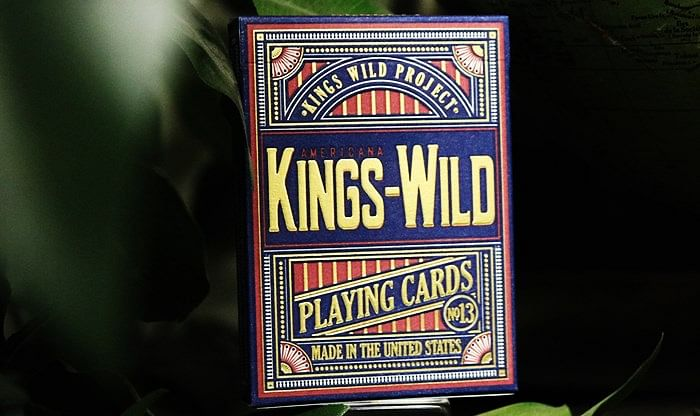 Kings Wild Americana Limited Edition Playing Cards - magic