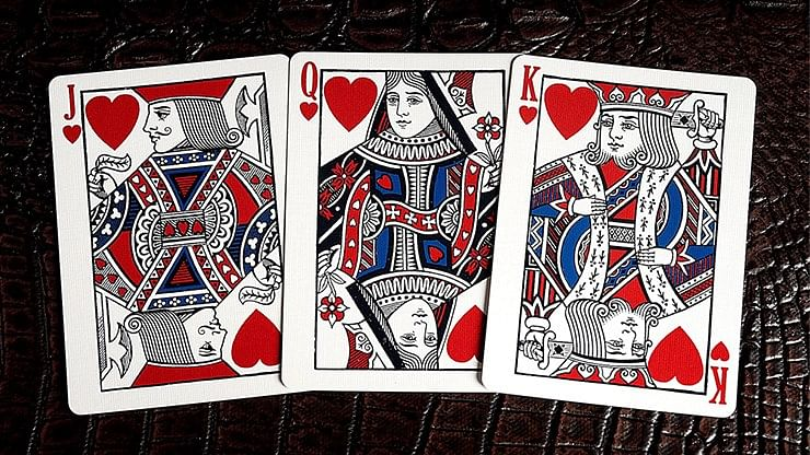 Kings Wild Americana Playing Cards (Standard Edition)
