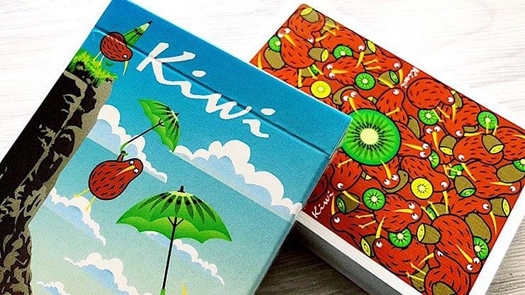 Kiwi Bird Playing Cards - magic