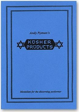 Kosher Products: Lecture Notes - magic