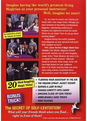 Lance Burton's Magic Made Easy! Volume 1