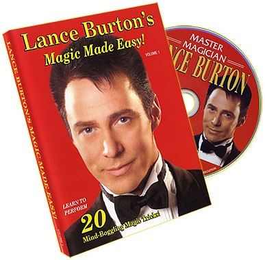 Lance Burton's Magic Made Easy! Volume 1 - magic