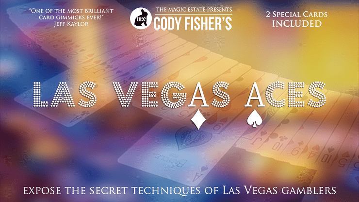 Las Vegas Aces (DVD and Gimmicks) - magic