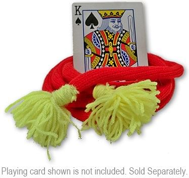 Lassoing A Card - Advanced - Deluxe - Woolen* - magic