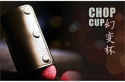 Leather Chop Cup - magic