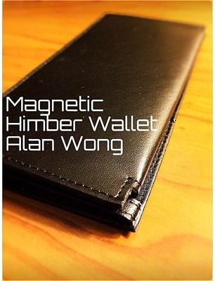 Leather Magnetic Himber Wallet - magic