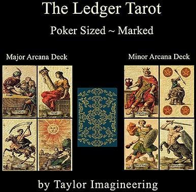 Ledger Major and Minor  Arcana Deck Poker Sized - magic
