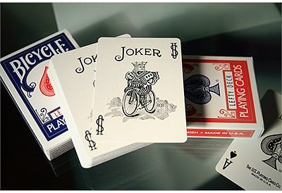Lefty Playing Cards (Blue)