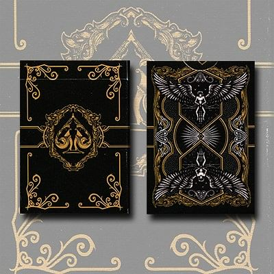 Legacy Limited Edition Playing Cards (Black) - magic