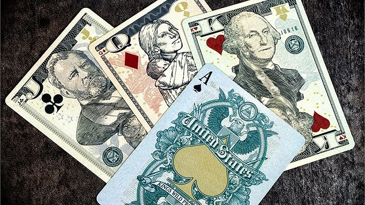 Legal Tender Playing Cards - US Version