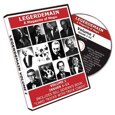 Legerdemain Magazine - Volume 1 - magic