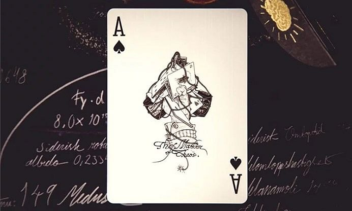 Lennart Green Tribute: The Master of Chaos Playing Cards