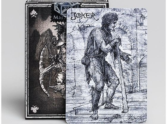 Leonardo MMXVIII Silver Edition Playing Cards