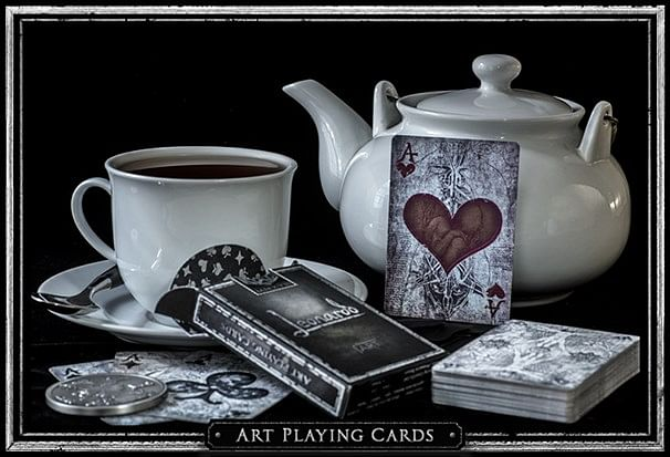 Leonardo MMXVIII Silver Edition Playing Cards - magic