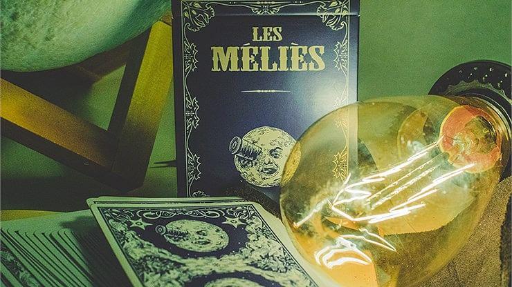Les Méliès Conquest Blue Playing Cards (Royal Blue)