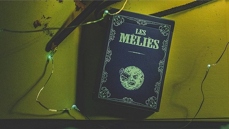Les Méliès Conquest Blue Playing Cards (Royal Blue) - magic