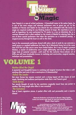 Lessons in Magic Volume 1